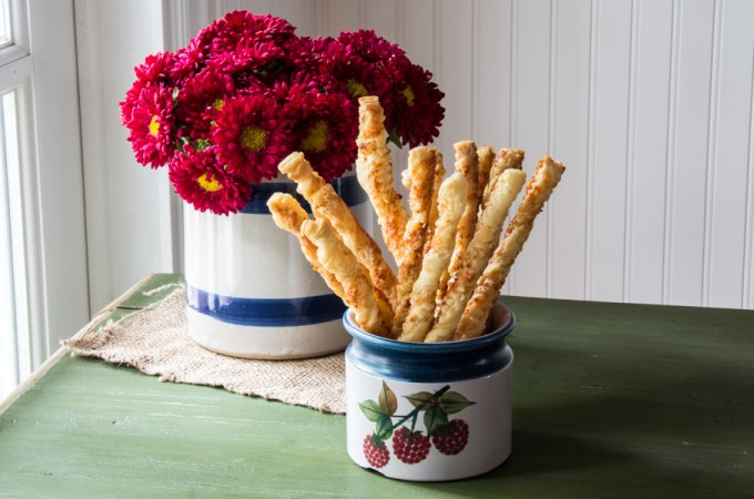 Spicy Cheese Twists: #SundaySupper
