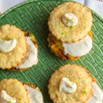 coconut shortcakes with grilled pineapple
