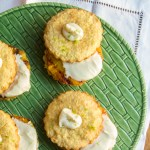 coconut shortcakes with pineapple