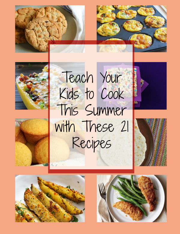 Parade magazine cooking with kids this summer