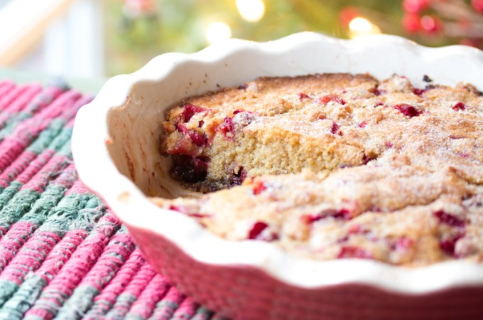 Cranberry Cake (Tart) | #Secret Recipe Club