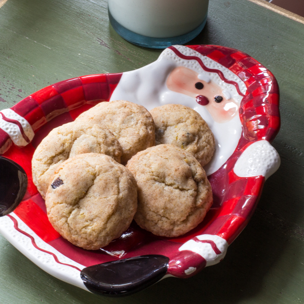 Figgy Cardamom Snickerdoodle Cookies