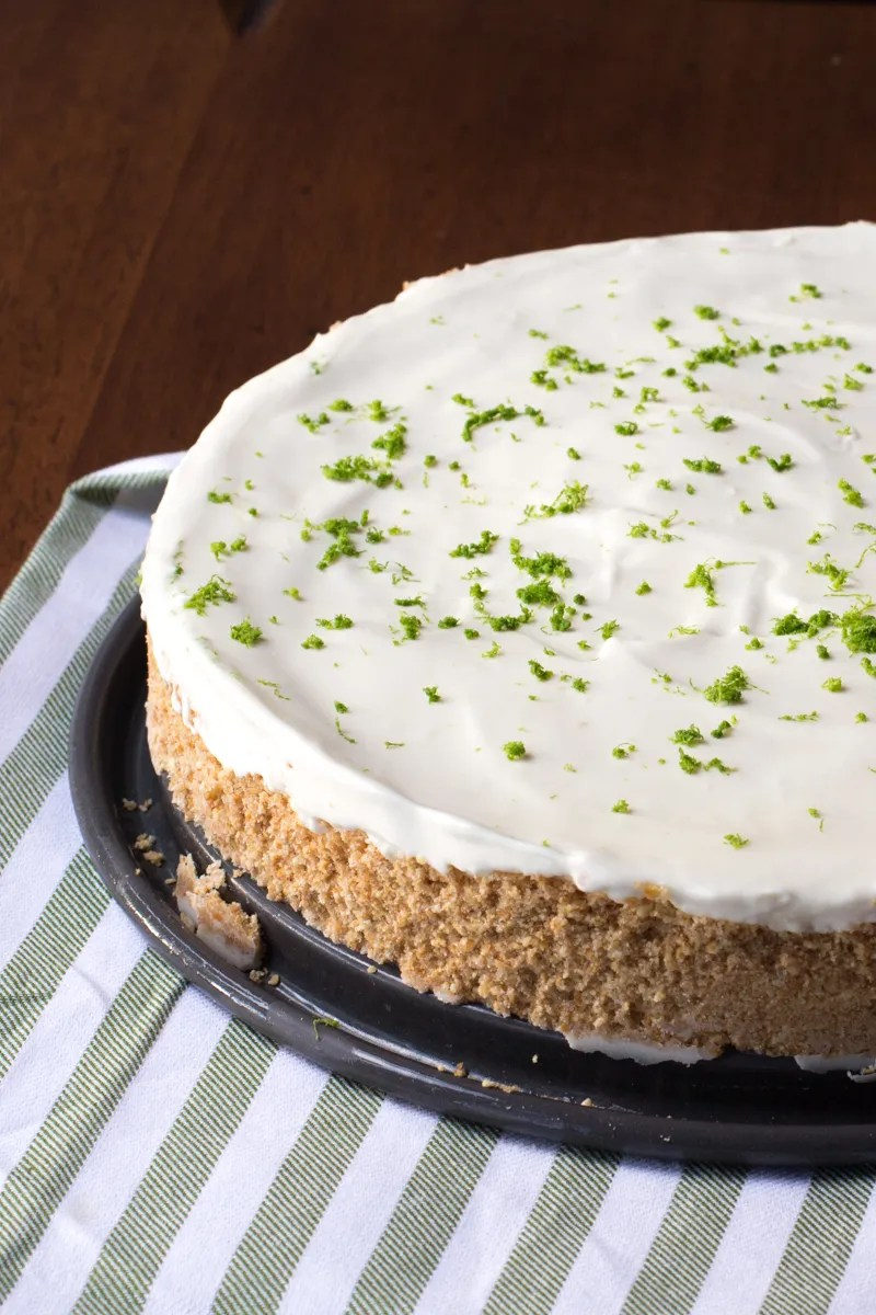 No Bake Pie: Margarita Pie with a Pretzel Crust. Great frozen dessert to serve for Cinco de Mayo, and tuck away the leftovers into the freezer to have on hand all summer.