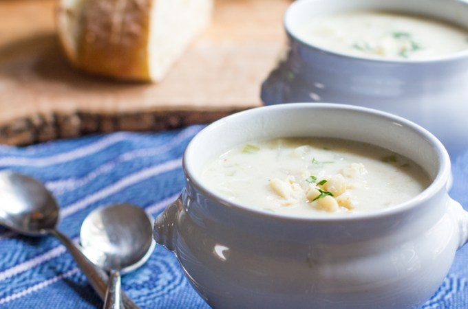 Idaho® Potato Island Clam Chowder