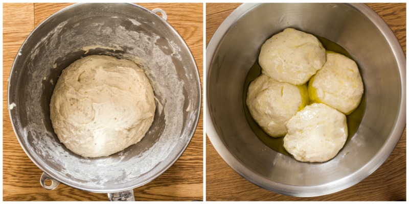 Layered Onion Bread dough PicMonkey Collage