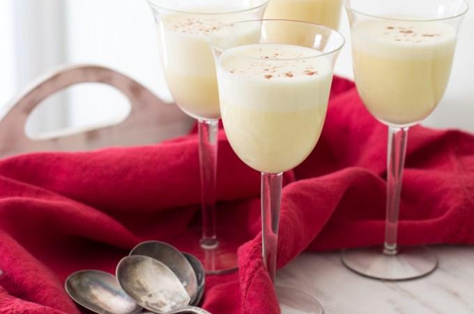Eggnog Crème Anglaise | #SundaySupper