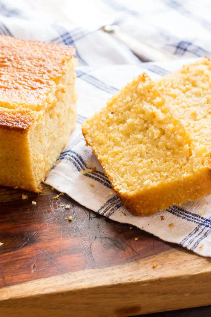 Tender, moist buttermilk cornbread that's super easy to make.