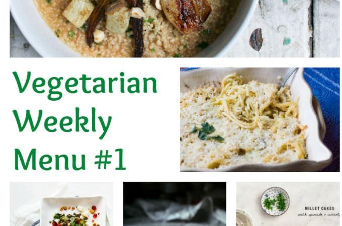 Weekly Vegetarian Menu #1