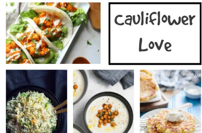10 Ways to Have Cauliflower Tonight