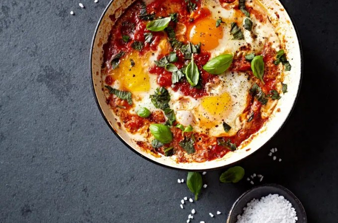 And the Winner is….Spicy Skillet Eggs (Mexican-ish Shakshuka) !