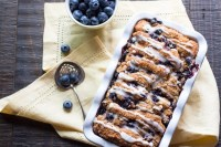 Blueberry Scone Bread | #BreadBakers