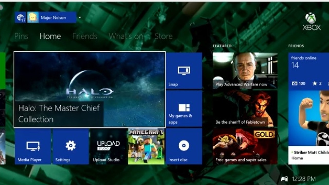 Xbox One November Update Now Rolling Out With Custom Background Gamer Profile Live Tv Integration More Wincentral