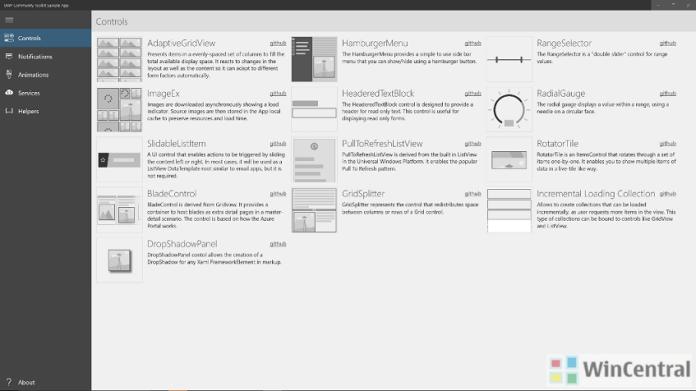 uwp community toolkit