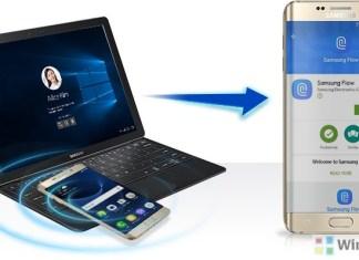 Samsung Flow app on Windows 10