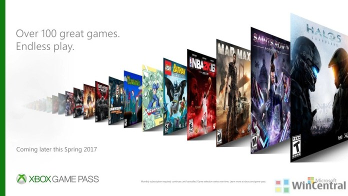 Xbox Game Pass Games Lineup