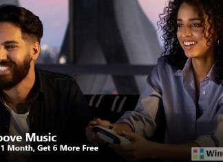 Groove Music Labor Day Deal