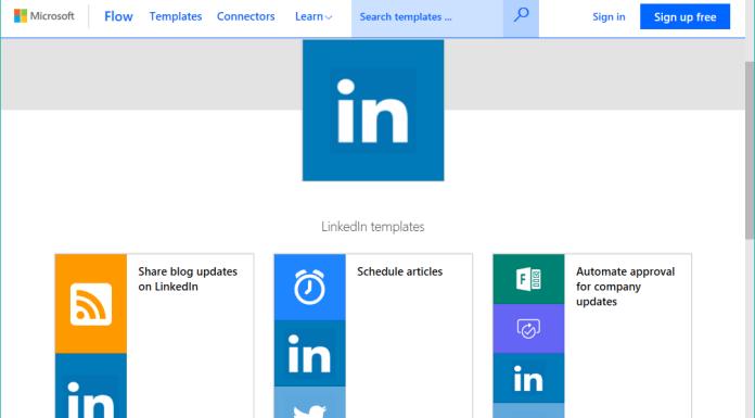 LinkedIn connector