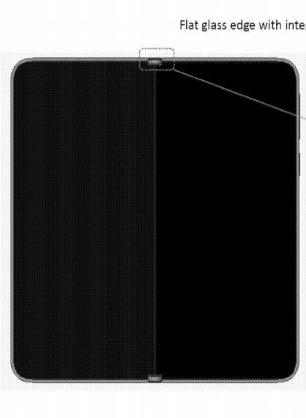 Surface Phone OLED display 3D sketch 4