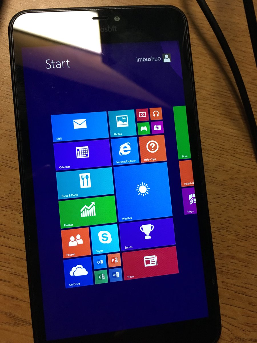Update: Internet works now  Enthusiast ports Windows RT 8 1 to Lumia