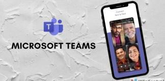 Microsoft Teams Mobile app