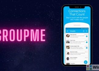 GroupMe app