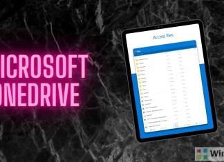 OneDrive iOS app