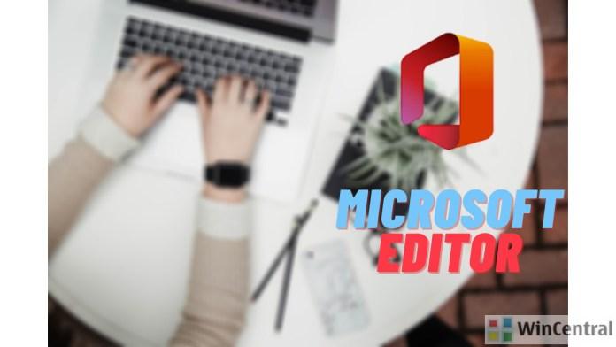 Microsoft editor