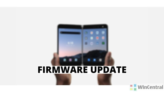 Surface Duo firmware update