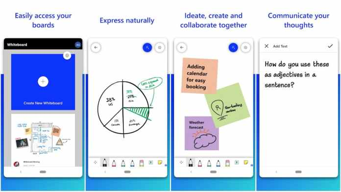 Microsoft Whiteboard app for Android
