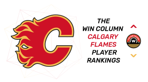 The Win Column Calgary Flames Player Rankings. November 19, 2018.