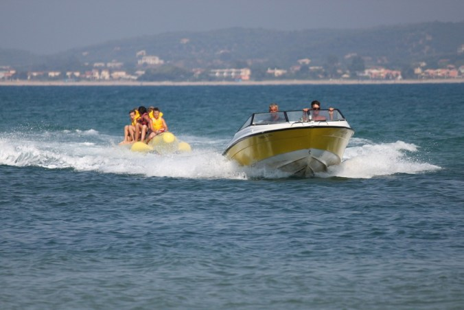 Banana boat - Things to do in bali