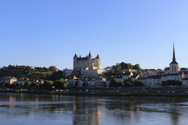 Along the Loire River with its pretty villages and iconic chateaux.