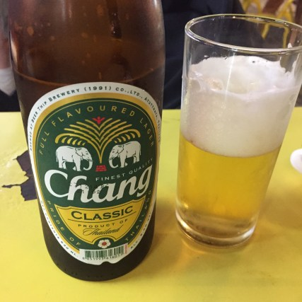 Chang in a bottle (Consumed in BKK)