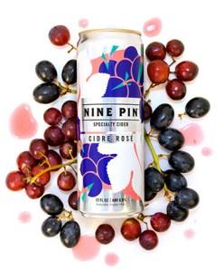 Nine Pin Cidre Rosé