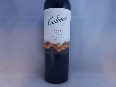 Colome Estate Salta Malbec 2015