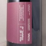 Tillie J Yarra Valley Pinot Noir 2020 Side Label