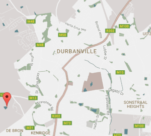 Durbanville Wine Valley Map