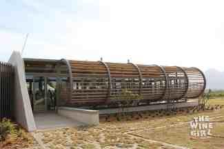 Paserene tasting room modern wine farm