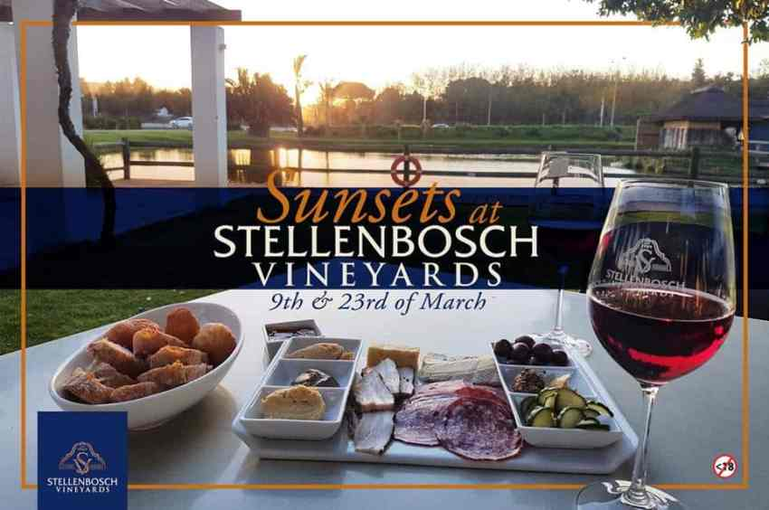 Stellenbosch Vineyards Tapas and Sunset
