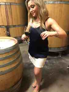 zandvliet wine blending wine girl