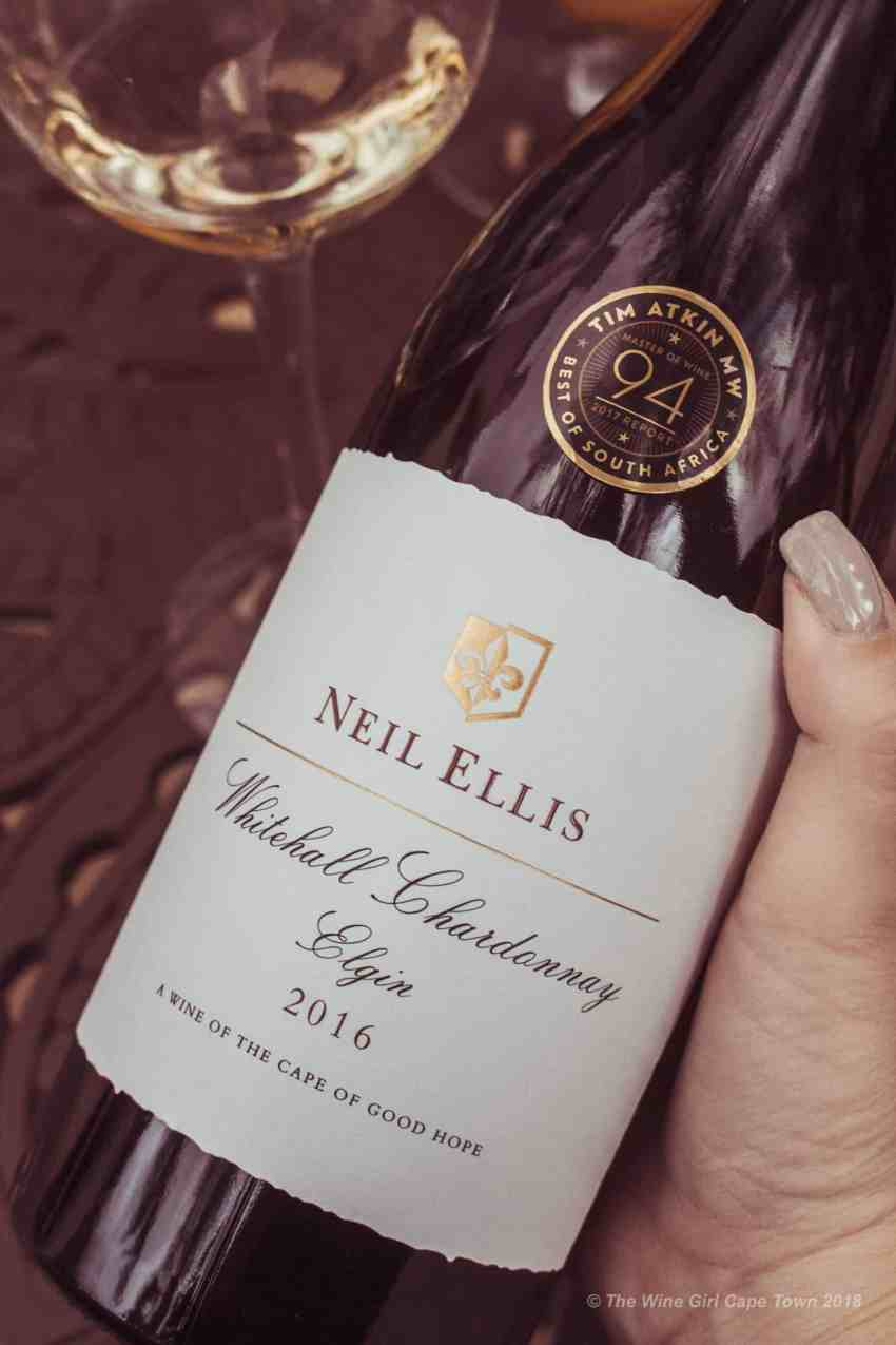 Neil Ellis awarded Chardonnay 94 point wine tim atkin