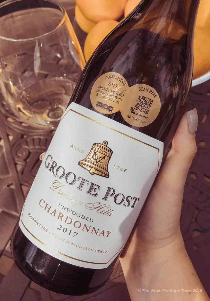 Groote Post Unwooded Chardonnay