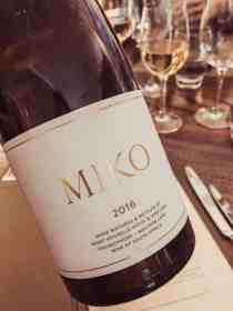 Miko restaurant wine