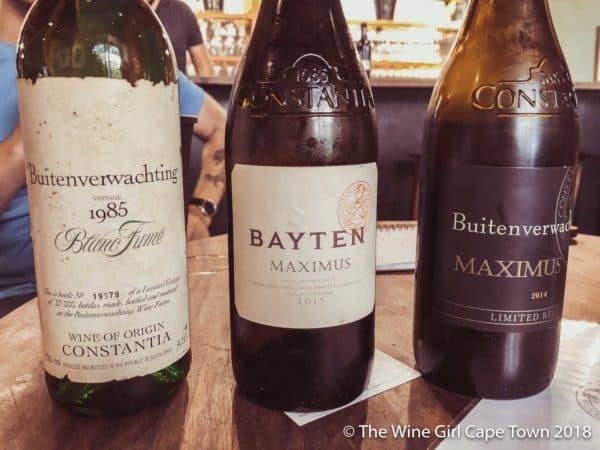 Buitenverwachting constantia wine tasting