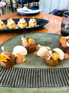 le petit manoir franschhoek wine valley restaurant dessert