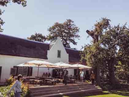 Buitenverwachting Constantia wine tasting room