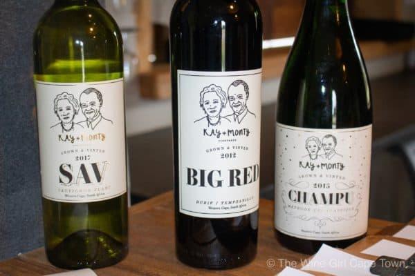 Plettenberg Bay Winelands Kay and Monty Vineyards wines