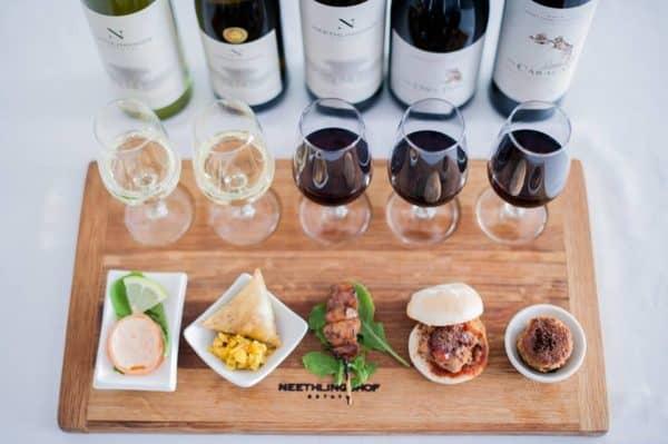 neethlingshof food and wine pairing