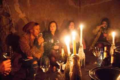 Weltevrede estate bonnievale wines underground tasting