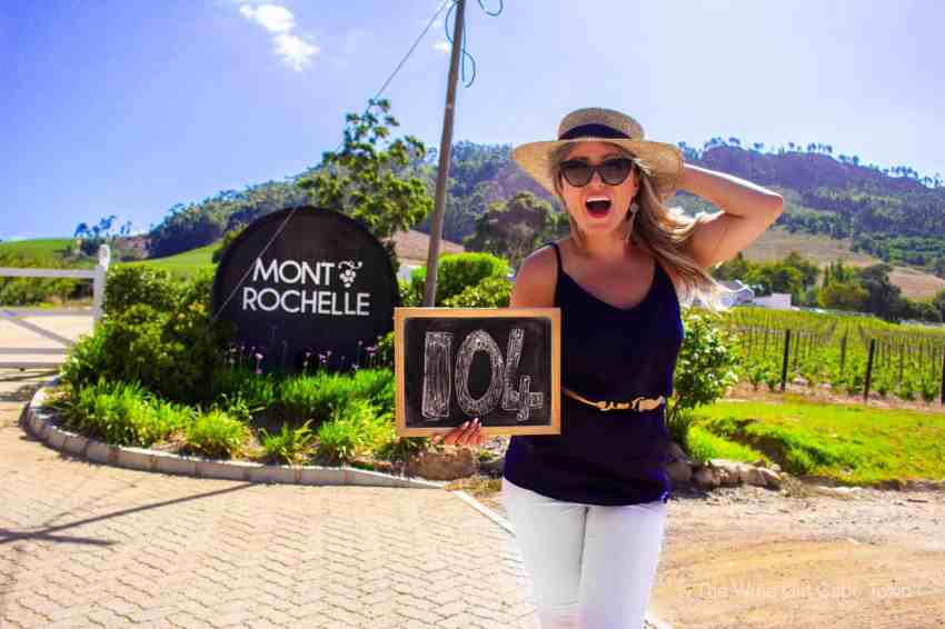 Mont Rochelle Franschhoek the wine girl cape town wine tasting south africa